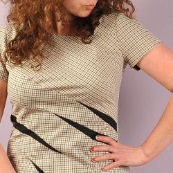 Sukienka i bluzka ze szpadą. Model 0717
