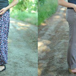 Bohdana z koleżankami czyli spodnie na lato. Model 0741
