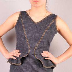 Odświętna sukienka. Model 0862