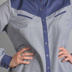 Koszula elegancka i sportowa.  Model 0871