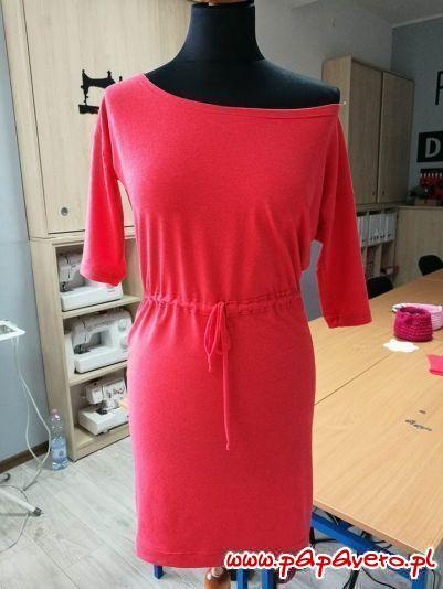 Sukienka z bluzki dla podlotków