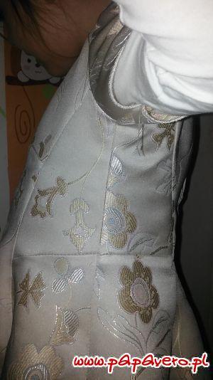 Sukienusie na bal sa w trakcie szycia
