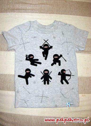 T-shirt i raglan dziecięcy. Model 0865