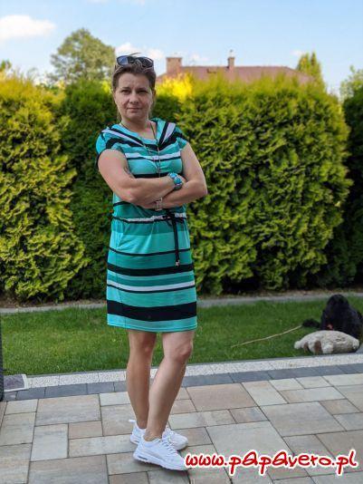sukienka idealna model 1051
