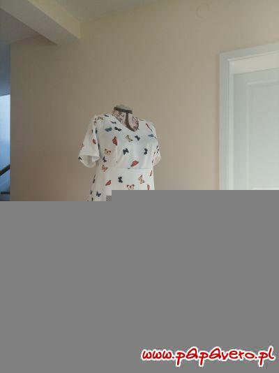Granatowa Teresa model 0251 rozm.50xy