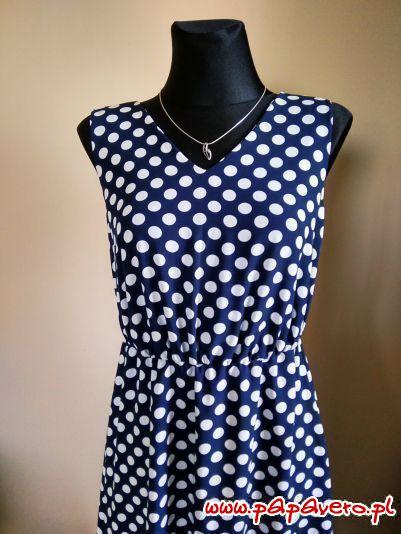 Sukienka na środową imprezę. Model 0336